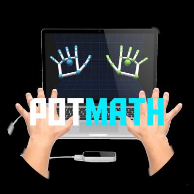 PotMathLeapMotion